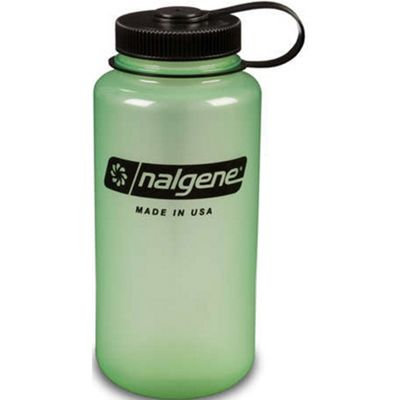 Nalgene Wide Mouth Tritan Bottle 1L Glow Green