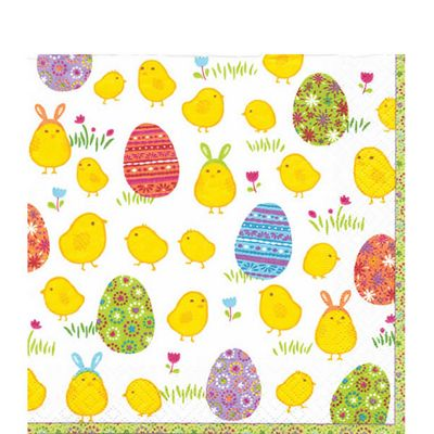 Peep Easter Chick Napkins - 3ply Paper