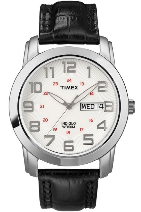 Timex Gents Analogue Strap Watch T2N440