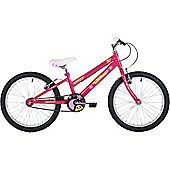 "Freespirit Buttercup 20"" Wheel Junior Mountain Bike Pink"