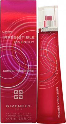 Givenchy Very Irresistible Summer Vibrations Eau de Toilette (EDT) 75ml Spray For Women