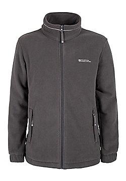 Mens Bernard Windproof Waterproof Lining Thermal Warm Breathable Walking Fleece - Grey