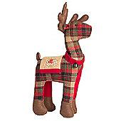 Tartan Fabric Reindeer
