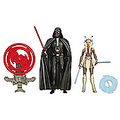 Star Wars 2 Figure Pack - Darth Vader & Ahsoka Tano