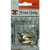 Shaw No2 Picture Hooks Medium Blister