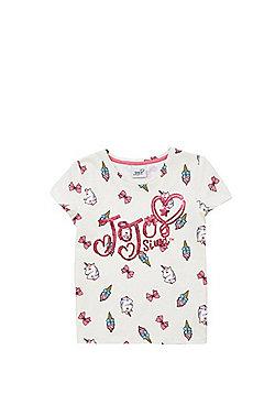 Nickelodeon Jojo Siwa Unicorn T-Shirt - Cream