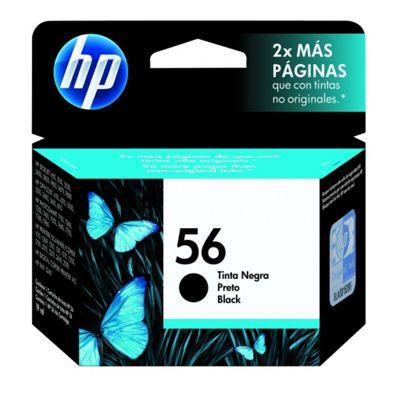 HP No.56 Black Inkjet Print Cartridge (C6656AE)W