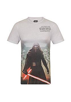 Star Wars Mens T-Shirt - White multi