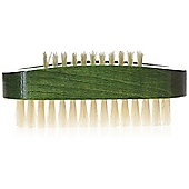 Kent ART 8 Stained Wood Nail Brush - Bottle Green