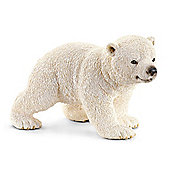Schleich Polar Bear Walking Cub