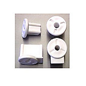 Bettacare Auto Close End Covers Pack Standard and Narrow White