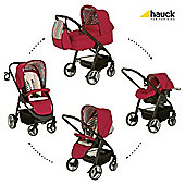 Hauck Lacrosse All-In-One Pushchair, Chilli