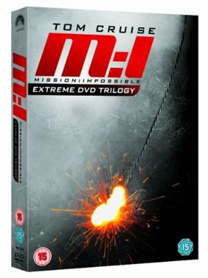 Mission: Impossible 1, 2 And 3 (DVD Boxset)