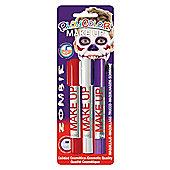 Playcolor Basic Make Up Pocket 5g Face Paint Stick (Zombie Set)