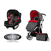 Obaby Chase with Mosquito Net 2 in 1 Travel System - Crossfire