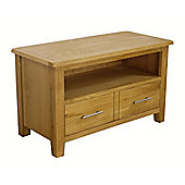 Nebraska Modern Small Oak TV Stand / Oak TV Unit