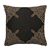 Black Sequined Indian Cushion Bedroom Living Room Decor