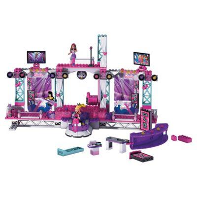 Mega Bloks Barbie Super Star Stage Playset
