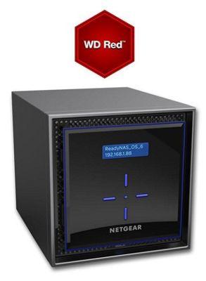 Netgear ReadyNAS RN424 4-Bay 8TB(4x2TB WD RED) High-performance Business Data Storage