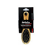 BaByliss Small Wooden Bristle Massage Hair Brush