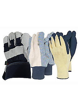 Town & Country Tgl584 Gents Gloves X3