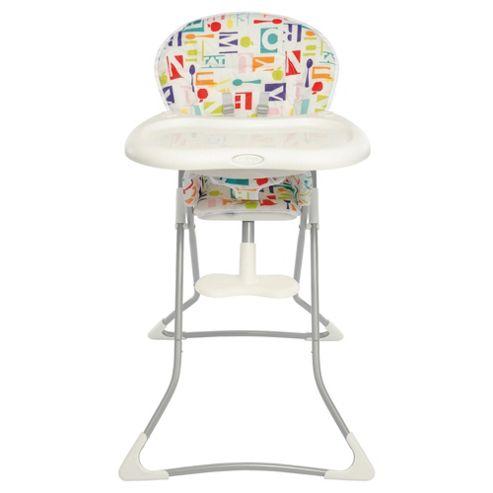 Graco Teatime Highchair in Alphabite