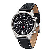 Jorg Gray Commemorative Edition Ladies Leather Chronograph Date Watch JG6500-21