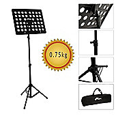 Tiger Lightweight 0.75kg Music Stand & Carry Bag ? Portable Stand