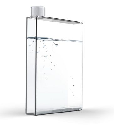 Asobu 500ml E Flask Clear Drinks Bottle