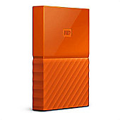 Western Digital My Passport 1TB Micro-USB B 3.0 (3.1 Gen 1) 1000GB Orange