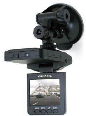 Grundig Car Video 720p Camera Digital Dashcam Camera