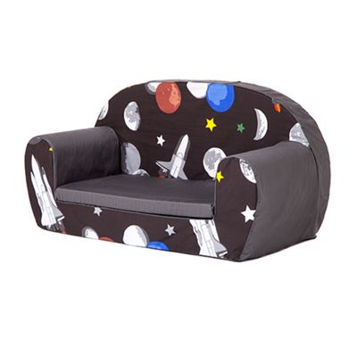Galaxy Soft Foam Toddlers Sofa 2 Seater