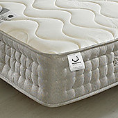 Happy Beds Bamboo 1500 Pocket Sprung Memory and Reflex Foam Mattress