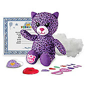 "Build-A-Bear Workshop Furry Friend ""Purple Kitty"""