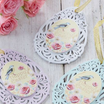 Vintage Style Easter Egg Decorations
