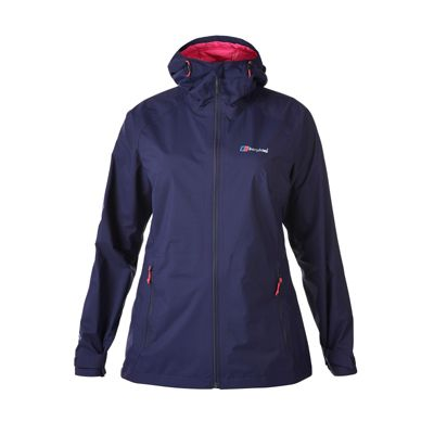 Berghaus Ladies Stormcloud Jacket Evening Blue 18