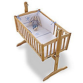 Clair de Lune 2pc Crib Bedding Set (Stardust Blue)