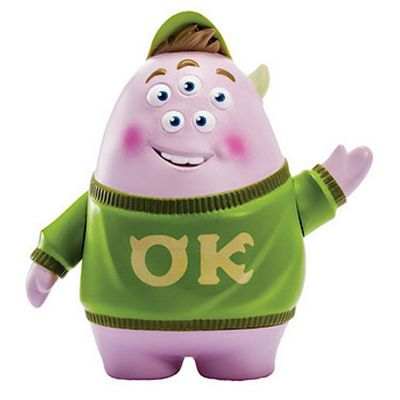 Monsters University Scare Students Figure - Squishy