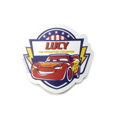 Cars 3 Personalised Magnet