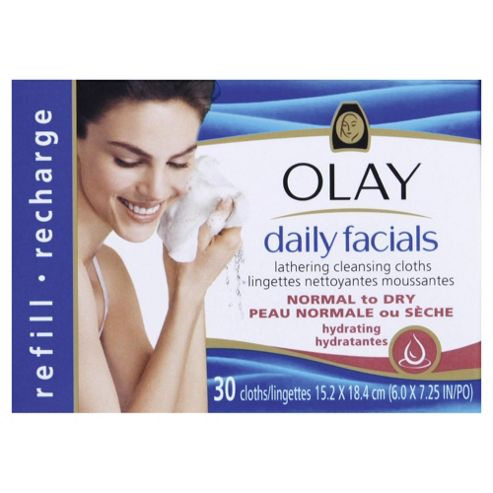 Olay Daily Facials Refill Norm To Dry 30'S