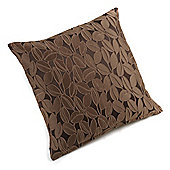 Hamilton McBride Coffee Bean Knife Edge Cushion Cover 43x43cm - Chocolate