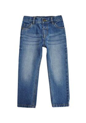 F&F Regular Jeans Mid Wash Blue 12-18 months