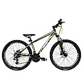 Tiger HDR 27.5 Front Suspension Mountain Bike Matte Grey Green