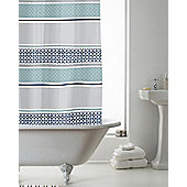 Country Club Shower Curtain Moroccan 180 x 180cm
