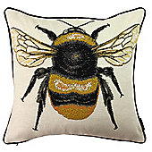 McAlister Printed Queen Bee Cushion - Woven Jacquard