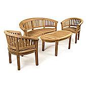BrackenStyle Windsor Bench Set - Teak