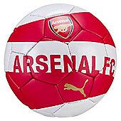 Puma Arsenal Fan Football Soccer Ball Mini Red/White