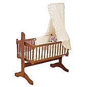 PreciousLittleOne 3pc Crib Set (Cream)