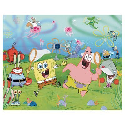 SpongeBob Square Pants Wallpaper Mural 8ft x 10ft