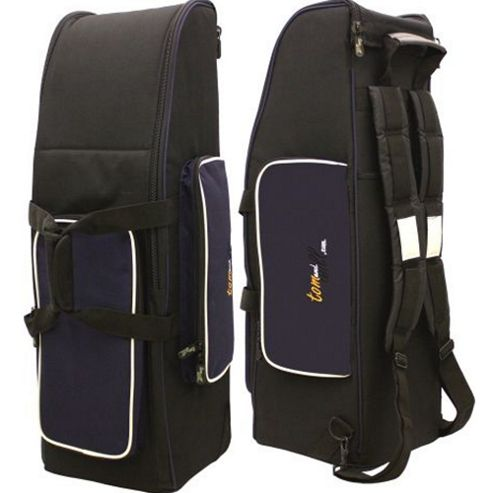 Tom and Will Bassoon Gig Bag in Black with Navy Trim